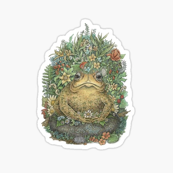 Her Majesty Toad Sticker