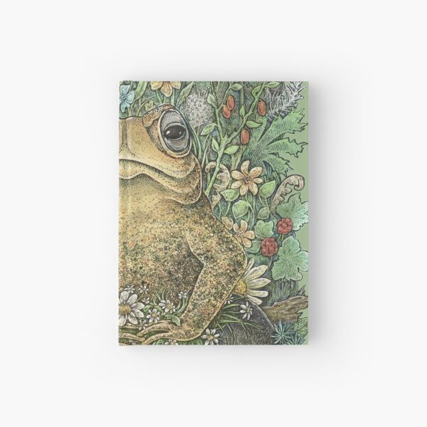 Her Majesty Toad Hardcover Journal
