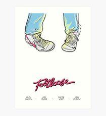 Footloose! Art Print