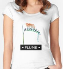FLUME SKIN COMPANION EP  Women's Fitted Scoop T-Shirt