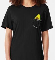 Pocket Avocado Slim Fit T-Shirt