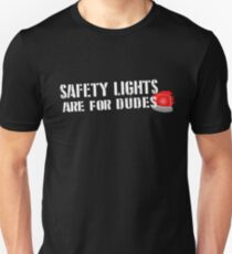 Ghostbusters: Safety Lights are for Dudes T-Shirt