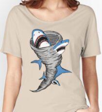 Shark Tornado Women's Relaxed Fit T-Shirt