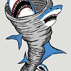 «Tiburón tornado» de jarhumor