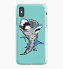 Shark Tornado iPhone Case