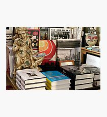 Still Life Books Photographic Print