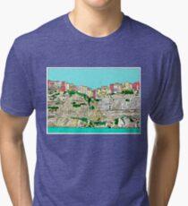 Bonifacio in Corsica Tri-blend T-Shirt