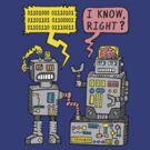 Robot Talk by jarhumor