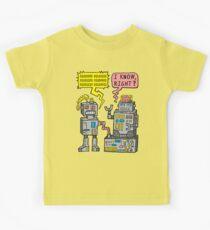 Robot Talk Kids Tee