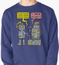 Robot Talk Pullover