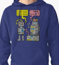 Sudadera con capucha Robot Talk