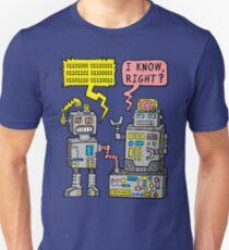 Robotergespräch Slim Fit T-Shirt