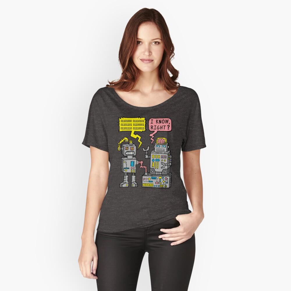 Robotergespräch Loose Fit T-Shirt