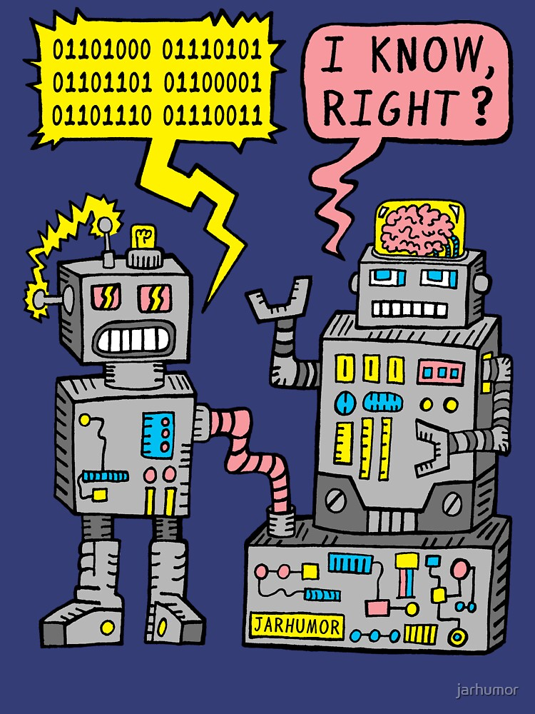 Robot Talk | Unisex T-Shirt