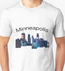 Minneapolis skyline Unisex T-Shirt