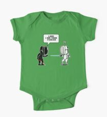 Luke.. I Am Your Fencer One Piece - Short Sleeve