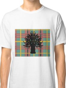 rural check tree Classic T-Shirt