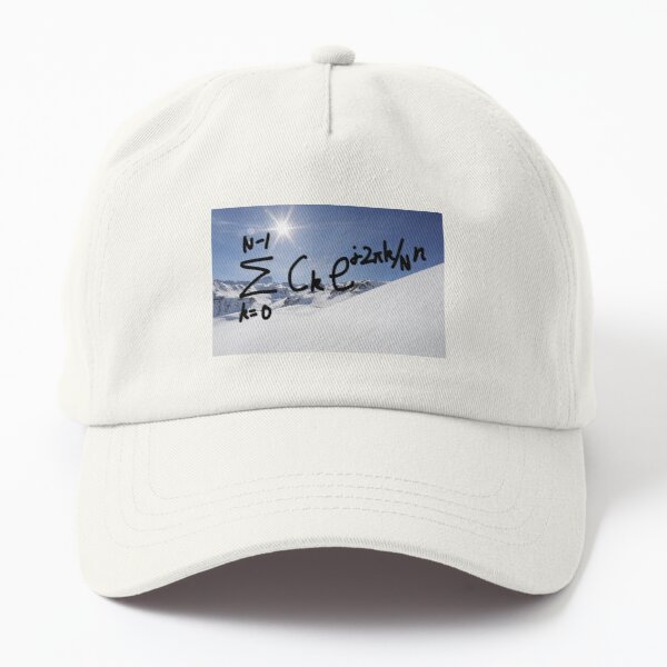 Be the smart one-Backward DTFS Dad Hat