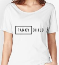 Fanxychild Crew Print Women's Relaxed Fit T-Shirt