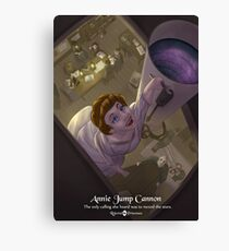 Annie Jump Cannon - Rejected Princesses Canvas Print