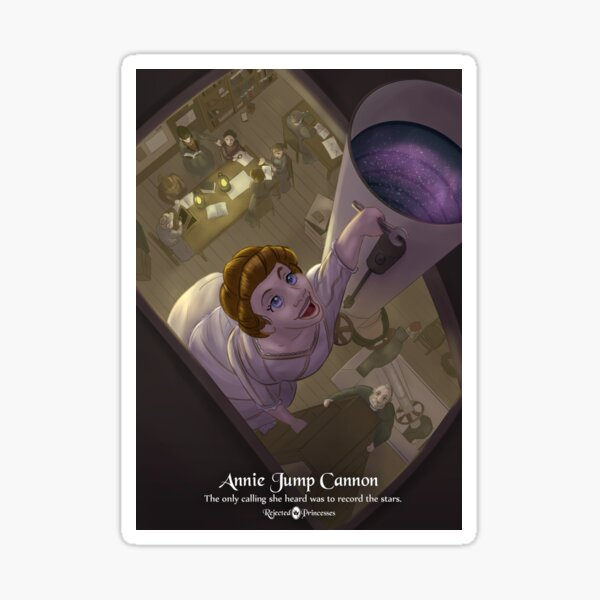 Annie Jump Cannon - Rejected Princesses Sticker