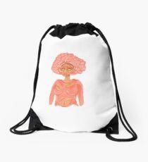 Mushroom Beauty Drawstring Bag