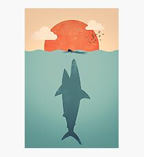 Hai attacke Fotodruck