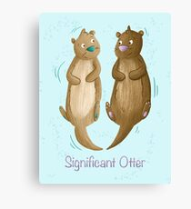 Significant Otter Canvas Print