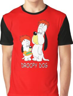 Droopy Dog - Cartoon Graphic T-Shirt