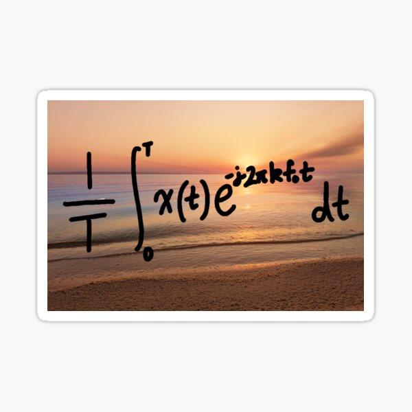 Be the smart one-Forward CTFS Sticker