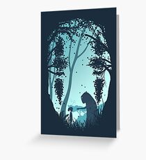 Lonely Spirit Greeting Card