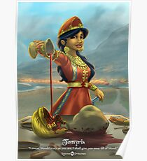 Tomyris - Rejected Princesses Poster