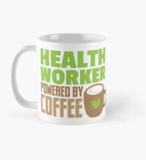 HEALTH WORKER powered by coffee Mug