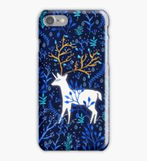Deericorn In Blue iPhone Case/Skin
