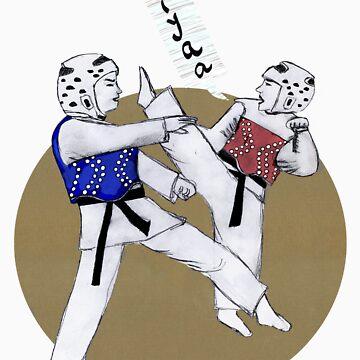 Taekwondo Martial Art by rainbowflowers