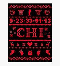 Chicago Sweater Photographic Print