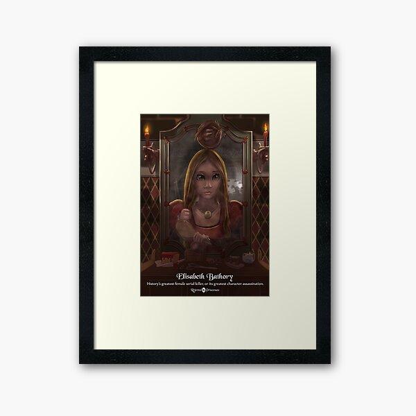 Elisabeth Bathory - Rejected Princesses Framed Art Print