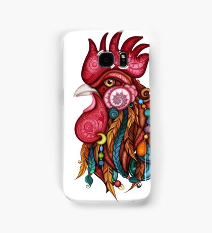 Tribal Rooster Design Samsung Galaxy Case/Skin