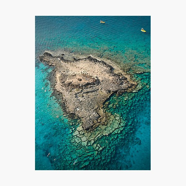 Fig Tree Island - Protaras Cyprus Photographic Print