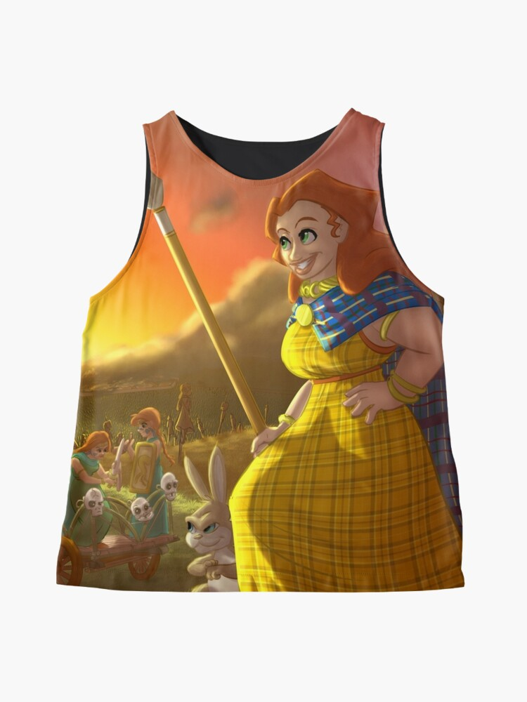 Alternate view of Boudica - Rejected Princesses Sleeveless Top