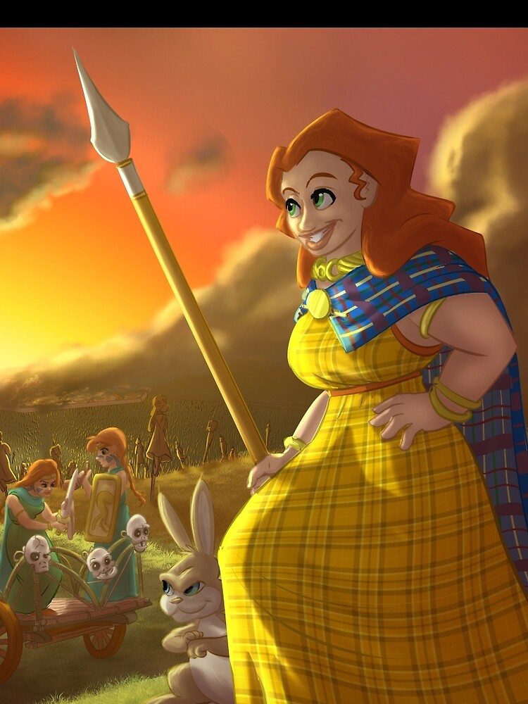 Boudica - Rejected Princesses by jasonporath