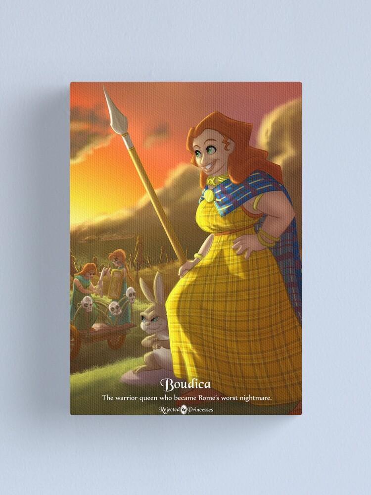 Alternate view of Boudica - Rejected Princesses Canvas Print