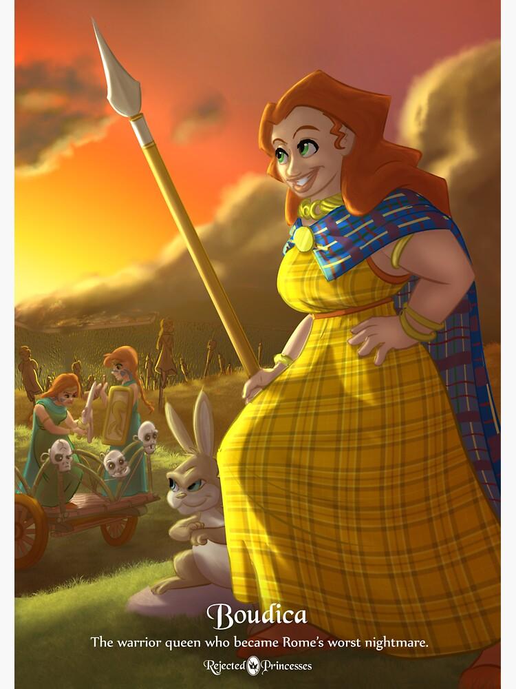 Boudica - Rejected Princesses by jasonporath