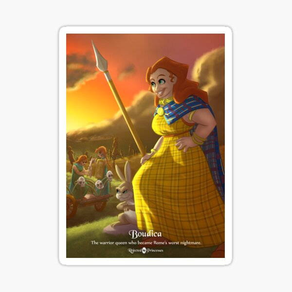 Boudica - Rejected Princesses Sticker