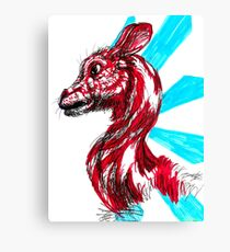 Peppermint Mammal Canvas Print