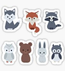 Forrest friends Sticker