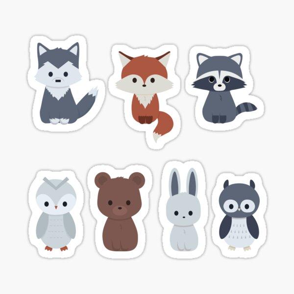 Forrest friends Sticker
