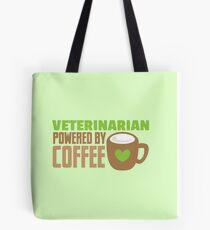 veterinarian powered by coffee Tote Bag