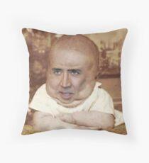Nicolas Cage/Baby Throw Pillow
