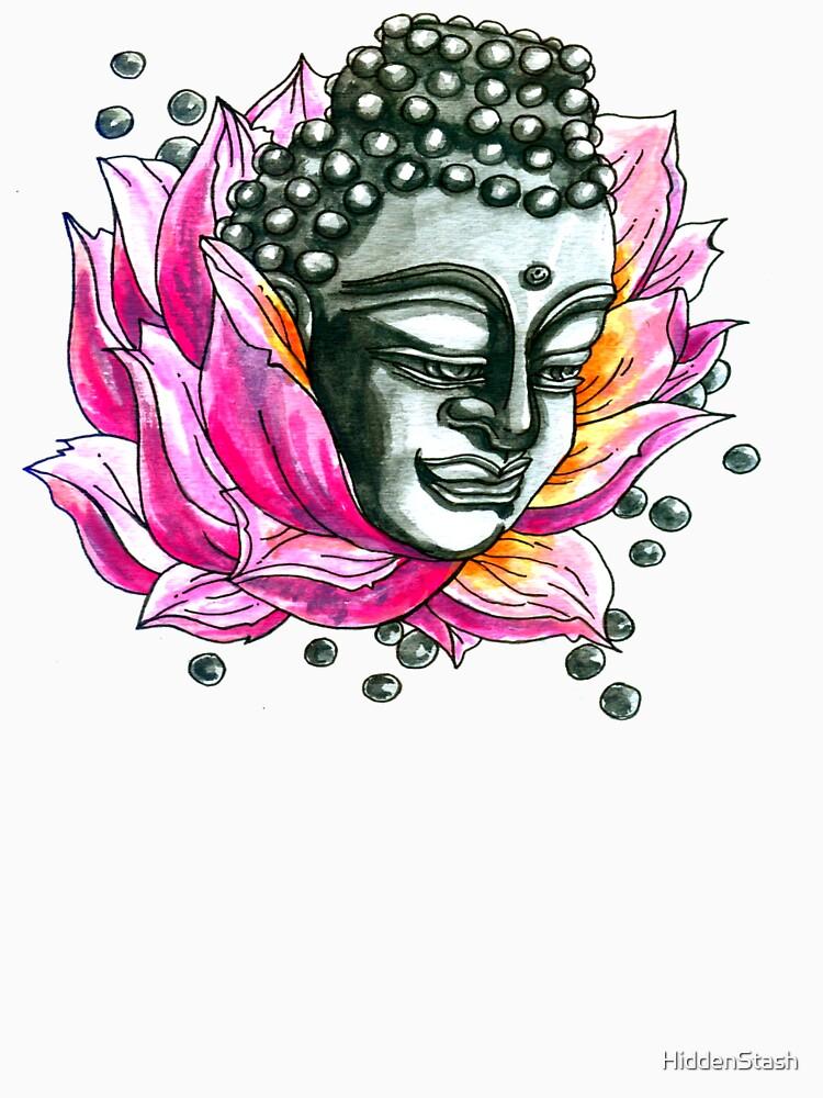 Lotus Buddha von HiddenStash